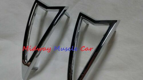 rear 1//4 panel marker lamp light bezel 68 Pontiac GTO 68 69 lemans tempest