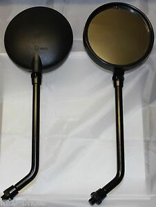 BRAND NEW A GRADE E MARKED PAIR OF MIRRORS KAWASAKI Z 400 J1 - J3 1980 - 1983
