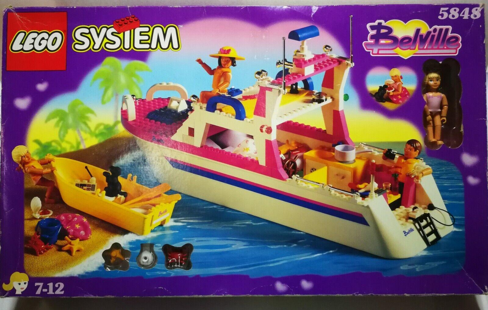 LEGO 5848 uomodarin  MOLTO RARA DI LUSSO DA CROCIERA YACHT NUOVO-OPEN scatola-SIGILLATO contenuto  acquista la qualità autentica al 100%
