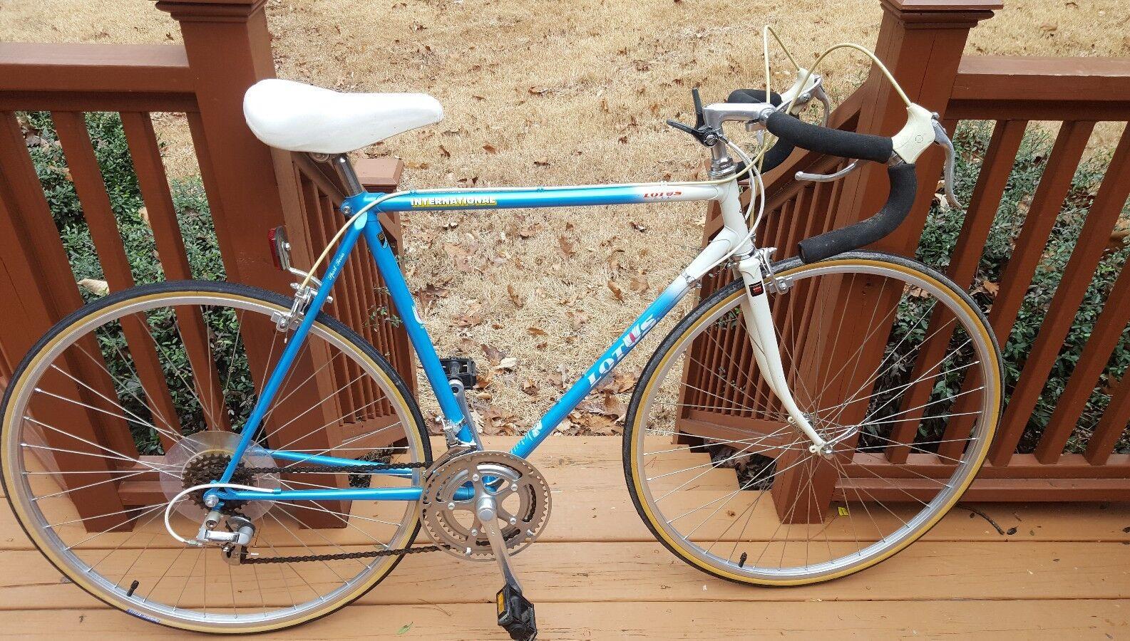 Mint Original 1988 Lotus International Sport Series Bicycle Made In Japan