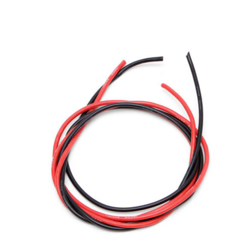 TOP 2M AWG Soft Silicone Flexible Wire Cable AWG10//12//14//16 RC Red and Black BSG