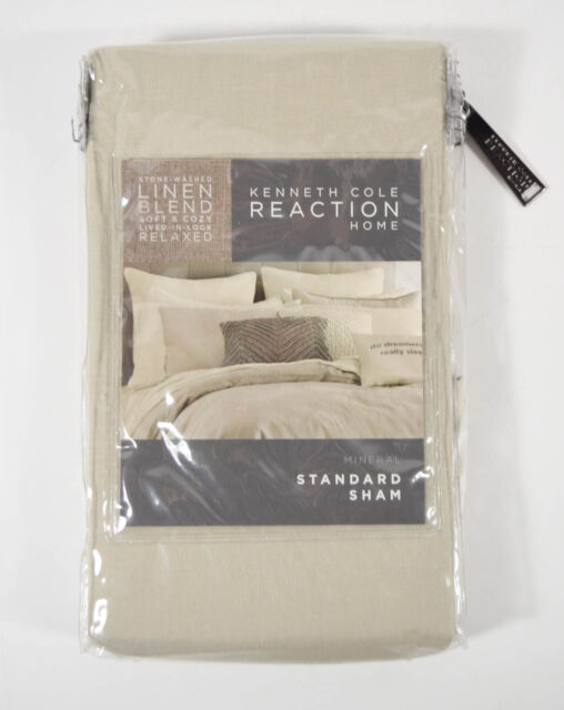 New Kenneth Cole Reaction Mineral Linen, Kenneth Cole Bedding Oatmeal