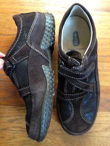 lage prijs verkoop gekke prijs popul Details about Wolky 38 US 6.75-7.5Women's Brown Leather Shoes Worn Once