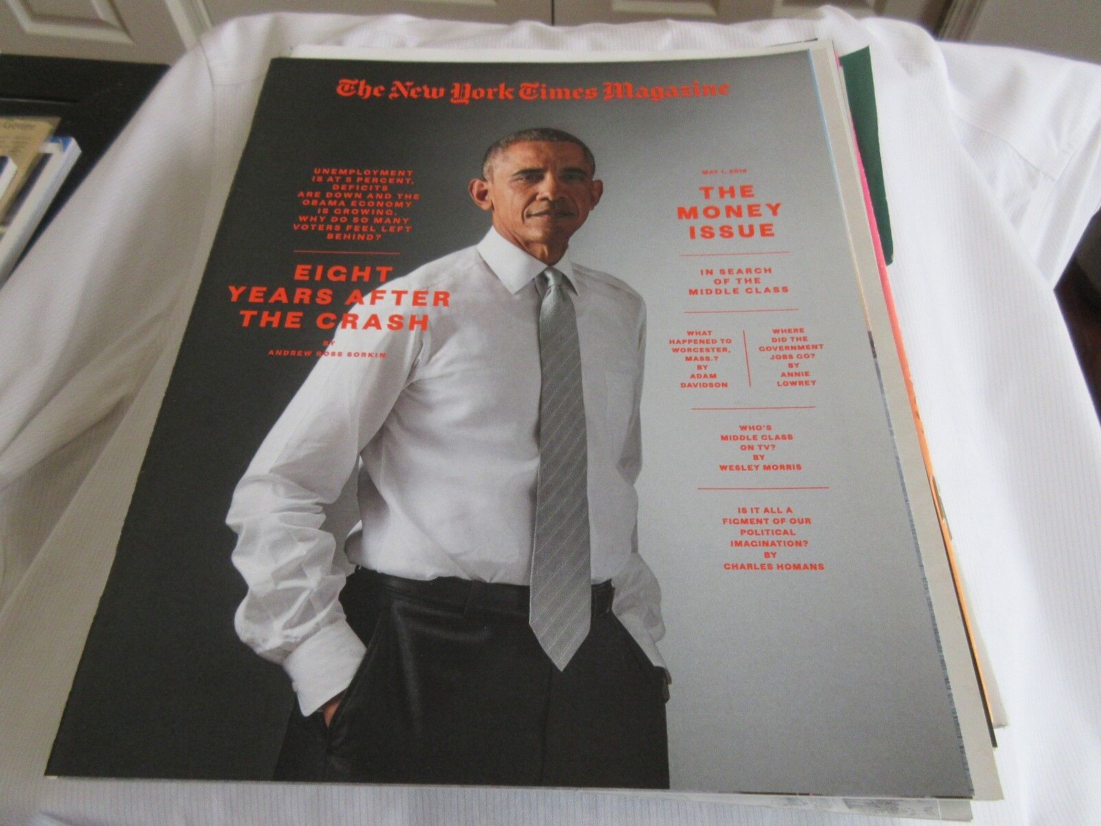 The Obama Recovery ,The Money Issue , New York Times Ma