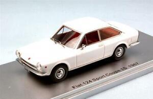 Fiat-124-Sport-Coupe-039-1S-1967-Ed-Lim-Pcs-250-1-43-Kess-Model-KS43010111-Mode