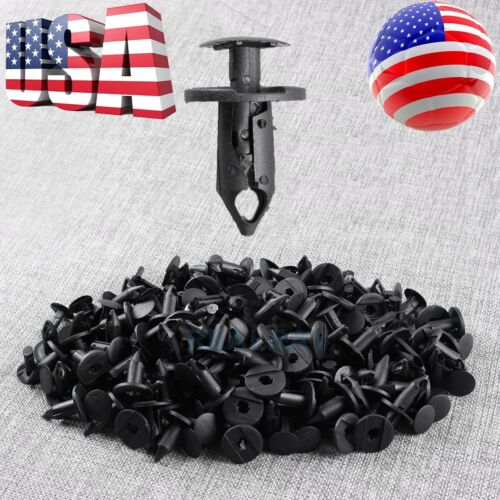 100pcs New Retainer Fastener Rivets Clips for Ford Escape Fiesta Fusion Mustang