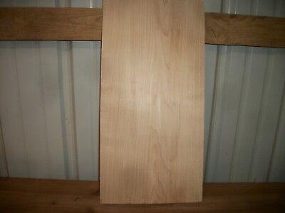 """1pc Hard Maple Lumber Wood Kiln Dried Board 20 1/2""""x 10 1/8""""x 7/8"""" Lot 620z Flat"""