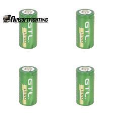 4X GTL 16340 CR123A LR123A 3.6V 2000mAh Rechargeable Li-Ion Battery Batteries