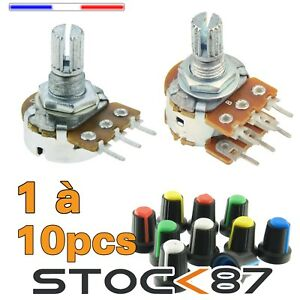 potentiometer-linear-B-1-2-2-5-10-22-50-100-220-500-K-ohms