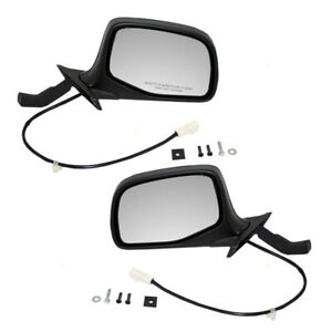 Pair Set Power Side View Mirrors for Ford Bronco F150 F250 F350 Pickup Truck