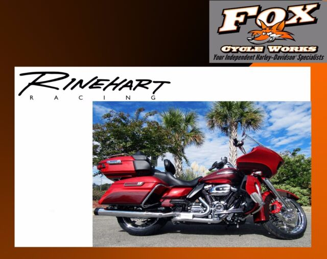 Rinehart Chrome Slimline Full True Dual Exhaust Mufflers 2017 Harley  Touring 404
