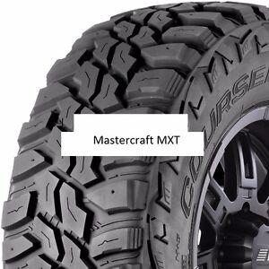 4 New 35x12 50r15 Mastercraft Mxt Mud Tires 35125015 35 1250 15