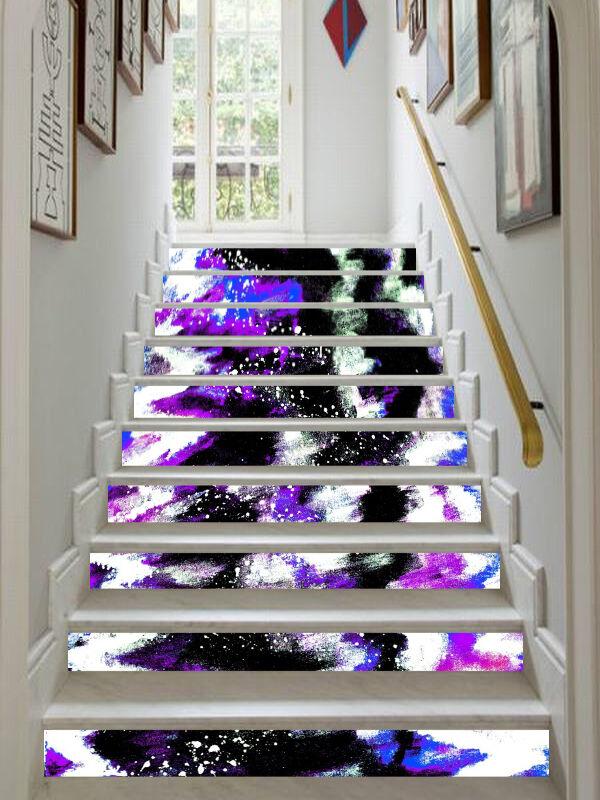3D Blaume Muster 75 Stair Risers Dekoration Fototapete Vinyl Aufkleber Tapete DE