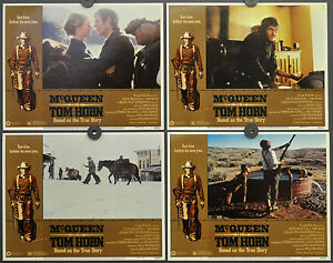 TOM-HORN-1980-ORIGINAL-11X14-LOBBY-CARD-SET-STEVE-McQUEEN-LINDA-EVANS