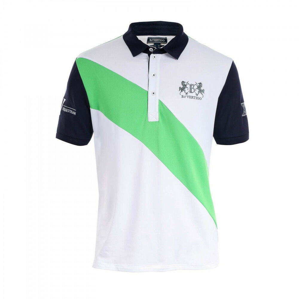 B vertigo Garcia Unisexe Polo Shirt anti-humidité et anti-bactérienne