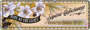 Nostalgic-Art-Confiteria-Superior-Confectionery-Confect-Marcadores-Chapa-15-x-5