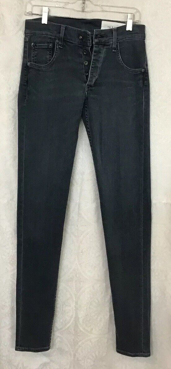 Rag And Bone Jeans Richmond bluee  Stretch Cotton Jean Button Fly Size 29 X34