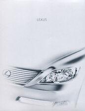 2008 Lexus LS LS460 LS600h 32-page Original Car Sales Brochure Catalog  - Hybrid