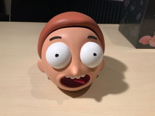 Morty Head Box Details about  /Officially licensed Rick and Morty