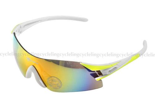 RockBros Polarized Cycling Glasses Sunglasses Three Interchangeable Lens