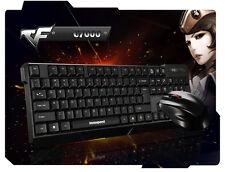 Wasserdicht 2,4 G Kabelloses Gaming Tastatur und Maus Set für PC Smart TV