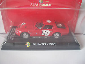 ALFA ROMEO SPORTING COLLECTION ALFA GUILIA TZ2 1965 MINT MODEL 143rd - <span itemprop='availableAtOrFrom'>Milber, Newton Abbot, Devon, United Kingdom</span> - ALFA ROMEO SPORTING COLLECTION ALFA GUILIA TZ2 1965 MINT MODEL 143rd - Milber, Newton Abbot, Devon, United Kingdom
