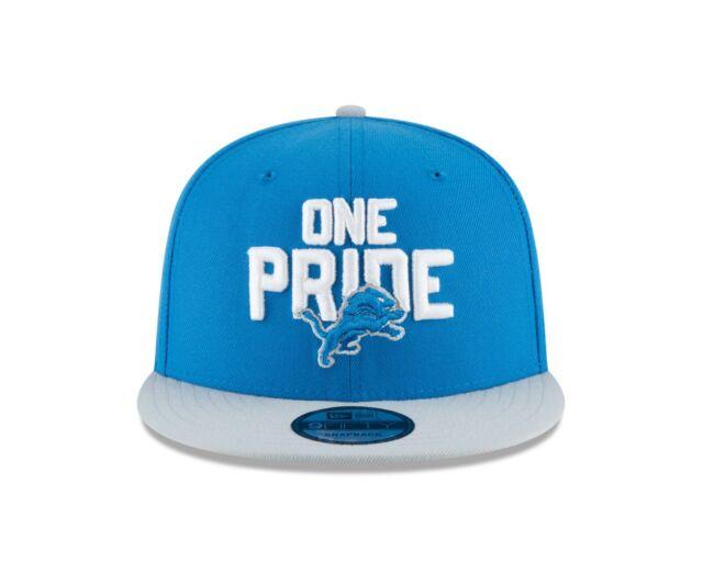 52fe33a0eca Detroit Lions Era 2018 NFL Draft Spotlight 9fifty Snapback Hat for ...