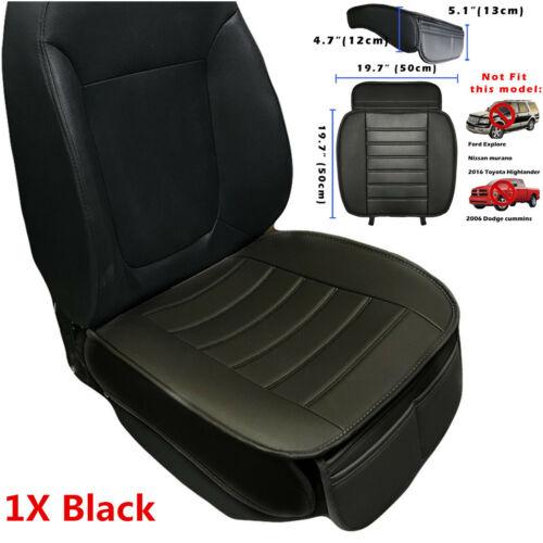 53x50cm Car Non-slip Seat Cover Driver Front Cushion w// Storage Small Pocket