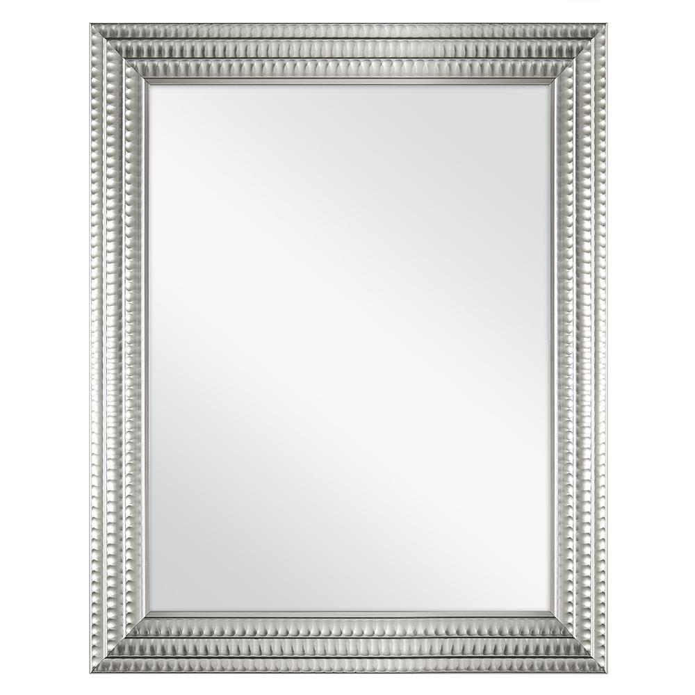 Vanity Mirror Wall Framed Fog Free Bathroom Metallic Silver 22 In X 27 In For Sale Online
