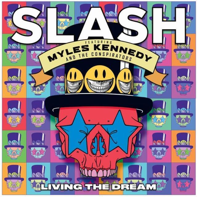 Slash Featuring Myles Kennedy Living the Dream CD NEW
