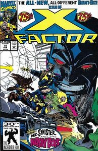 X-Factor-Comic-Issue-75-Modern-Age-First-Print-1992-Peter-David-Stroman-Milgrom