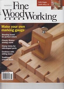 Details About Taunton S Fine Woodworking June 2017 No 261 Make Your Own Marking Gauge