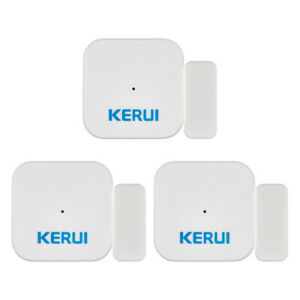 KERUI-3-Pieces-D028-Door-Sensor-Home-Security-Burglar-Alarm-System-Accessory