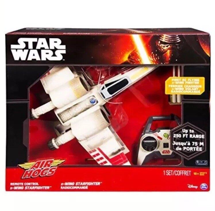 la mejor selección de Estrella Wars Air Hogs Hogs Hogs control remoto volando X Ala Estrellafighter fuerza Radio Control 250 Pies Nuevo  buscando agente de ventas