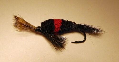 Waller Waker Bee #8  skating Flies-Salmon Steelhead