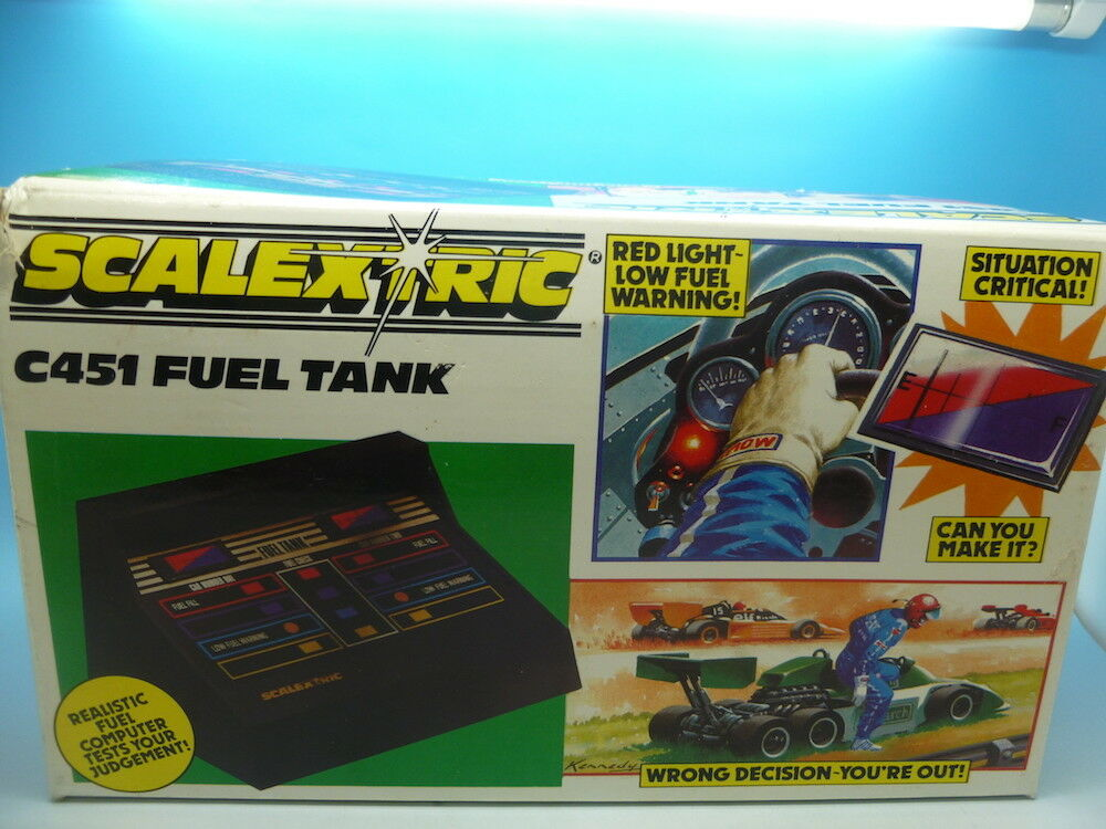 Scalextric C451 Fuel Tank, used but in super condition and great box.