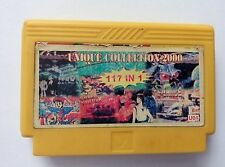 8 in 1 games( WILD GUNMAN, ROAD FIGHTER  ETC)- Famicom Famiclone Nes Cartridge
