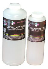 CLEAR CASTING COATING EPOXY RESIN CURES CLEAR LIKE GLASS - 48oz KIT