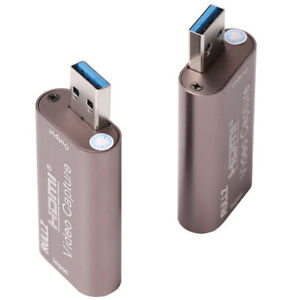 HDMI vers USB 3.0 Carte de capture vidéo HD 1080P enregistreur de jeu vidéo Live Streaming