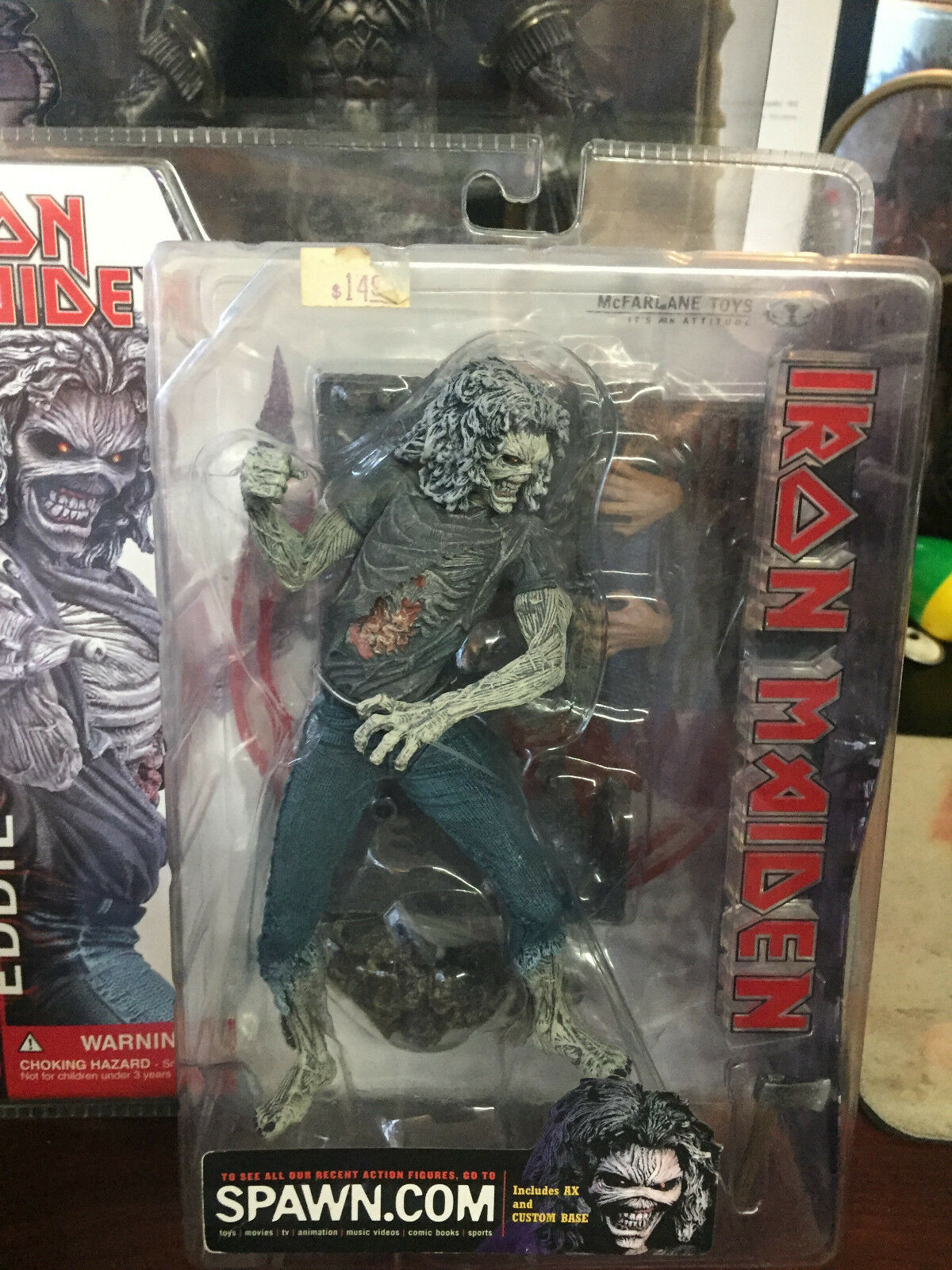 Mcfarlane -- Iron Maiden -- Eddie Killers figure NEW IN BOX