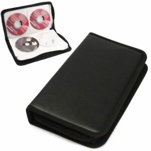 80-Sleeve-CD-DVD-Blu-Ray-Disc-Carry-Cases-Holder-Bag-Wallet-Storage-Ring-Binder