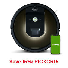 iRobot Roomba 980 Vacuum Cleaning Robot-Certified Refurbished, 15% Off: PICKCR15