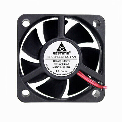 5V 50mm 50x50x20mm Brushless PC CPU Computer Case Cooling Exhaust Fan 2pin 5020