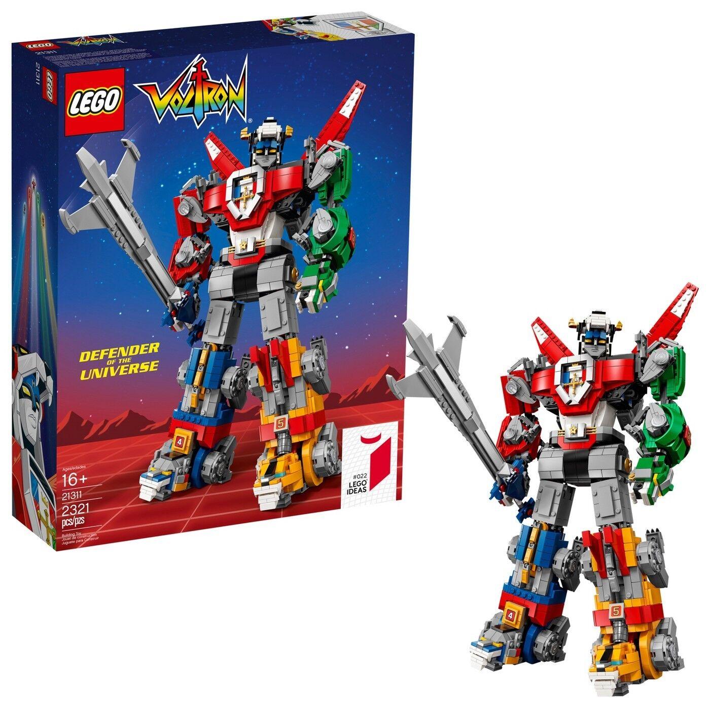 LEGO IDEAS  21311  Voltron - Defender of the Universe -1980s Anime Mecha / Robot