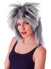 1980s 90s Gold  Rock Chick Tina Turner Singer Pop Star Wig Fancy Dress Accessory