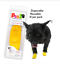 thumbnail 4 - Pawz Rubber Dog Shoes Wound Relief Re-usable And Sold In Singles,2,4,8 or 12s