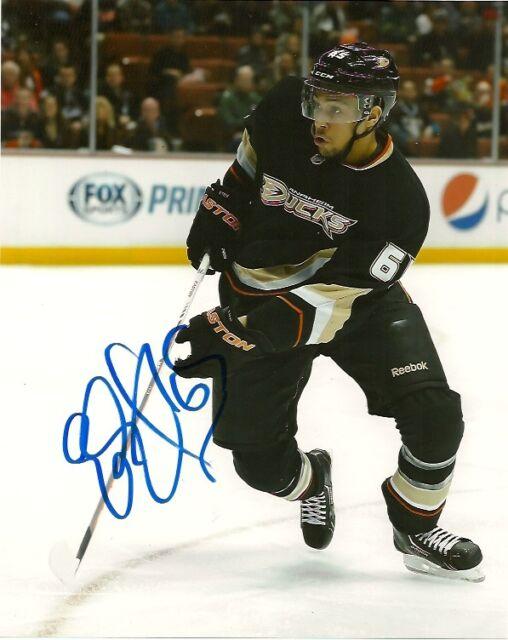 Anaheim Ducks Emerson Etem Autographed Signed 8x10 Photo COA