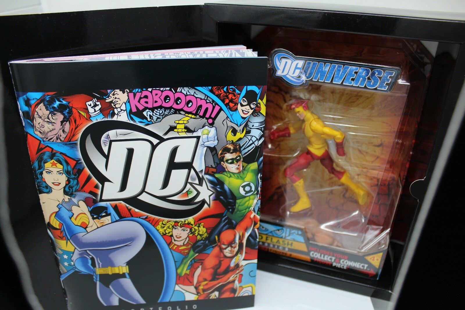 DC Universe Classics DCUC Collect & Connect Kid Flash Figure - Rare Promotional
