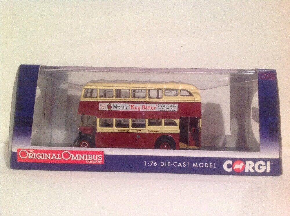 Corgi OM41605A Crossley DD42, Lancaster City Transport Ltd Ed 0001 of 1000