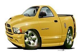 2004-Rumble-Bee-Pickup-Truck-Cartoon-T-Shirt-6807-2